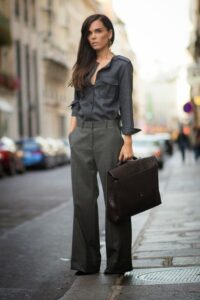 business woman look